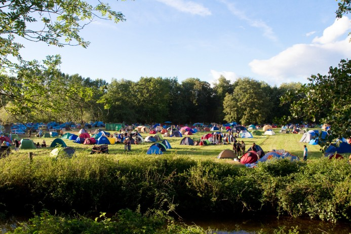 Camping Foreztival Trelins