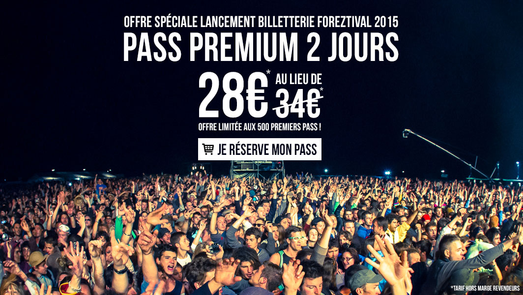 Pass Premium 2 jours Foreztival